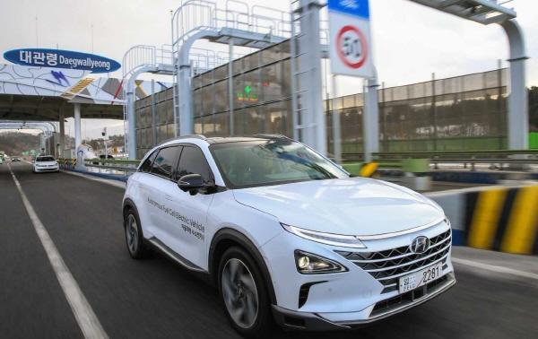 현대자동차 서울 평창간 고속도로 자율주행 성공 로봇신문사
